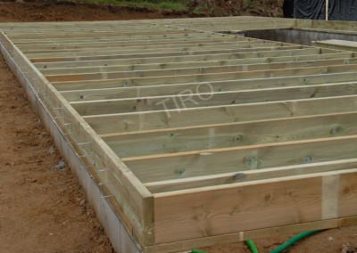 5-Floor joist framing for garages